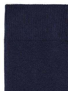 Night blue tights child girl LYAESCOL7 / 21SI0165COLC205