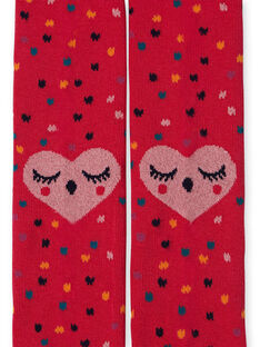 Red TIGHTS KYALUCOL1 / 20WI01P2COLF521