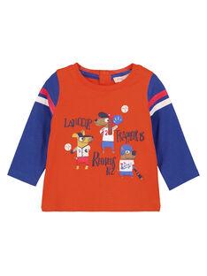 Light orange T-shirt GUSANTEE1 / 19WG10C3TML406