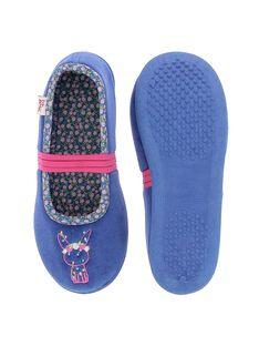 Girls' ballet pump slippers DFBALLAP / 18WK35W2D07070