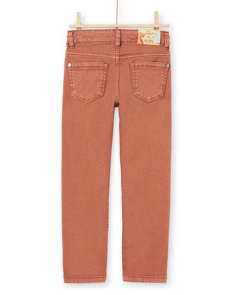 Boy's light brown pants MOPAPAN / 21W902H1PANI802