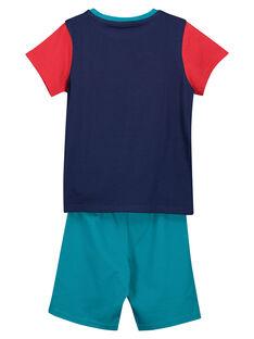 Boys' short pyjamas FEGOPYCLION / 19SH12H4PYJ070