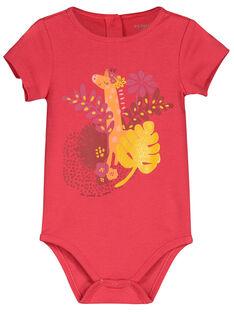 Baby girls' short-sleeved bodysuit FEFIBODTHE / 19SH1351BDL308
