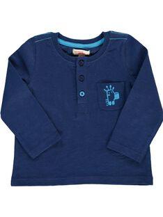 Baby boys' long-sleeved T-shirt CUJOTUN3 / 18SG10R5TML070