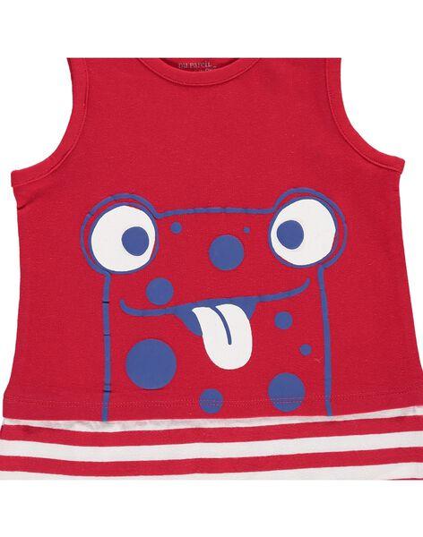 Baby boys' short sleepsuit CEGUGREJAU / 18SH1465GREF513