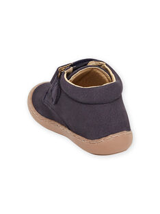 Baby boy navy blue velcro booties MUBOTIFLEXNAVY / 21XK3871D0F070