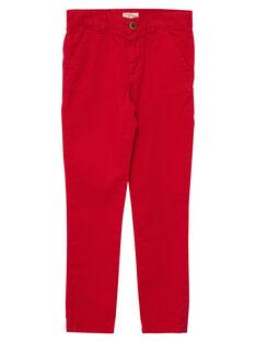 Red Pants JOJOPACHI6 / 20S90246D2BF505