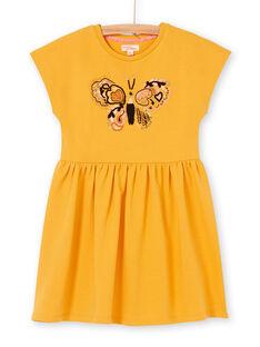 Yellow dress LAPOEROB2 / 21S901Y2ROB107
