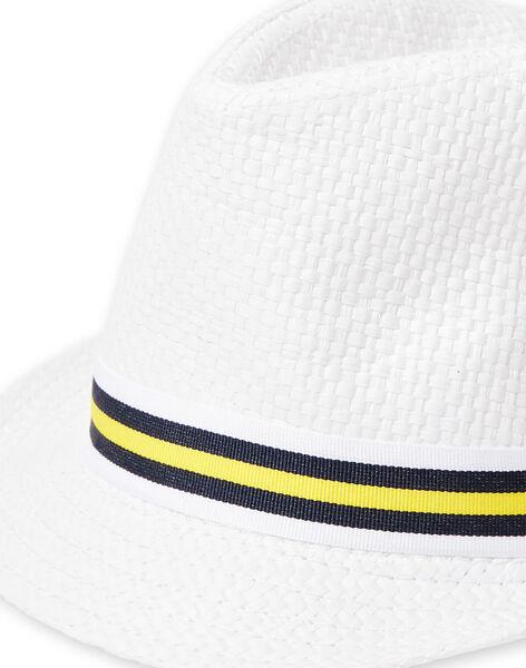 White hat child boy LYOJAUCHA / 21SI02O1CHA000
